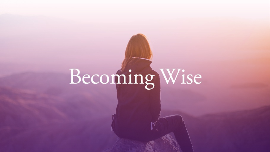 Proverbs: Becoming Wise