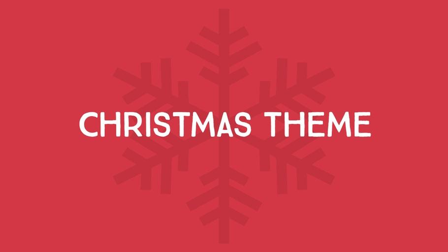 Christmas Theme (2012)
