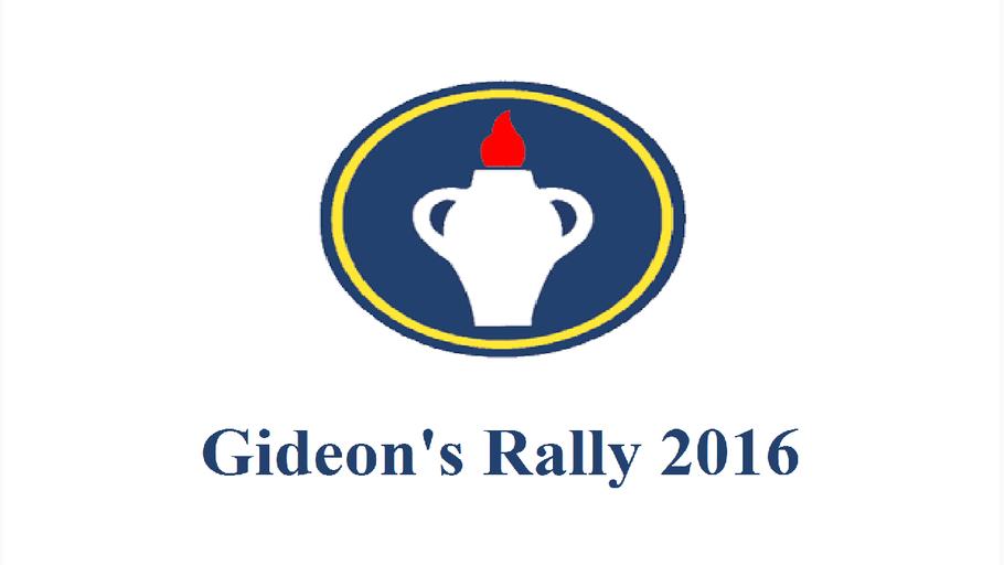 Gideon's Rally 2016